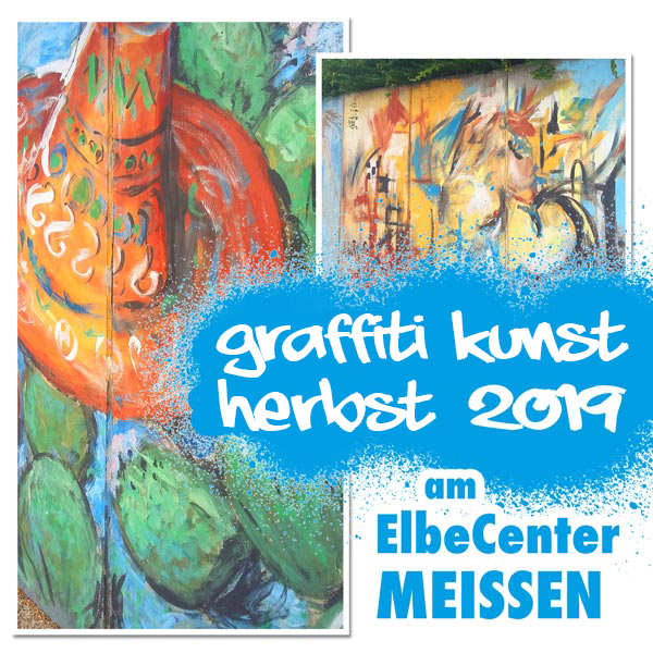 Graffiti Kunst Herbst 2019 am ElbeCenter